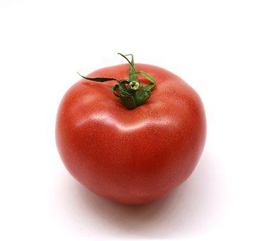 Tomato, A Vegetable, Red, Eating, Food, Vegetables