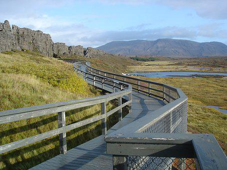 Iceland, Stones, Tourist Attraction, Tectonic Plate