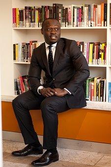 Businessman, Man, Handsome, Sexy, Black, African