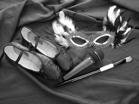 Theater Accessories, Micro, Dance Shoes, Brushes