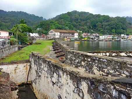 Portobelo, Panama, Fuerte San Rolando, Fort, Ruin