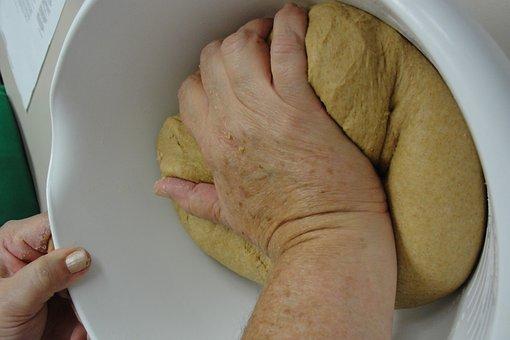 Bread, Knead, Dough, Bake, Homemade, Handmade