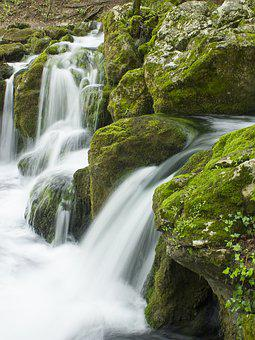 Waterfall, Water, Fall, Nature, Landscape, Travel