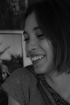 Woman, Portrait, Face, Beauty, Girl, Smile, Laugh