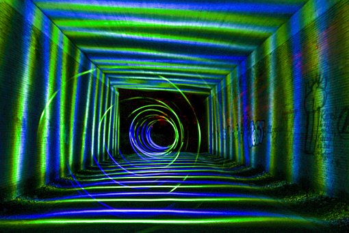 Light Painting, Color, Colorful, Structure, Strudel