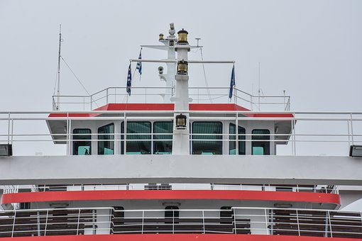 Ferryboat, Greece, Island, Thassos, Thasos, Sea, Water