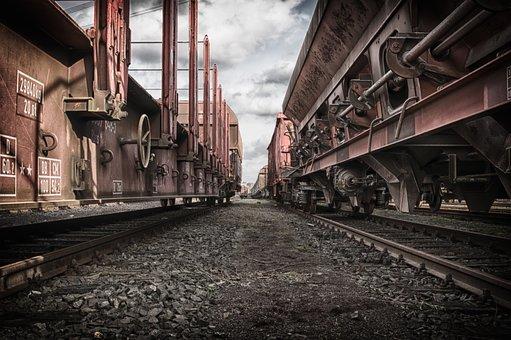 Wagon, Train, Goods Wagon, Transport