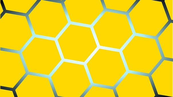 Yellow, Square, The Hive
