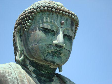 Big Buddha, Daibutsu, Japan, Statue, Buddhism, Japanese