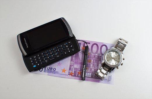 Mobile Phone, Professional, Money, Wealth, 500