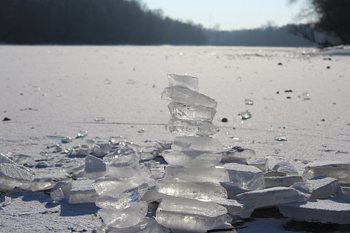 Ice, Lake, Frost, Winter, Cold, Water, Nature
