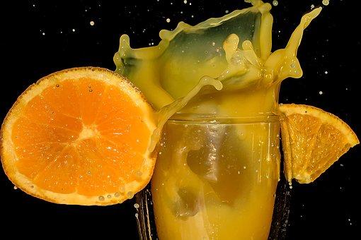 Orange Juice, Orange Slice, Pieces Of Orange