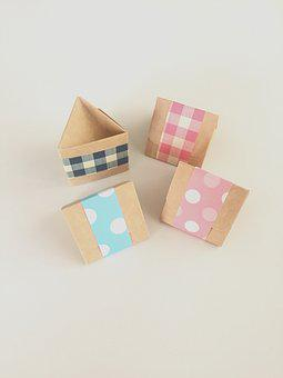 Box, Paper, Crafts, Arts And Crafts, Present, Gift