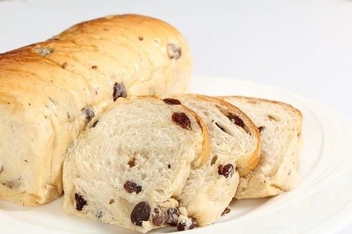 Bread, Raisin Bread, Raisin, Bakery
