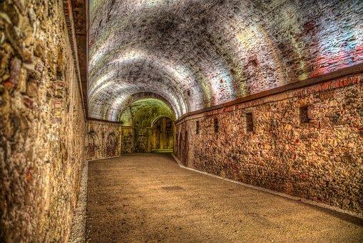 Cave, Corner, Brick, Lucca, Rock, Stone, Grotto, Old