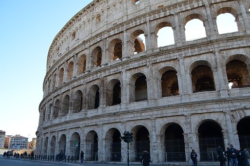 Rome, Italy, Places Of Interest, Colosseum, Theater