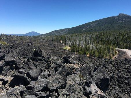 Lava, Volcanic, Nature, Landscape, Rock, Travel