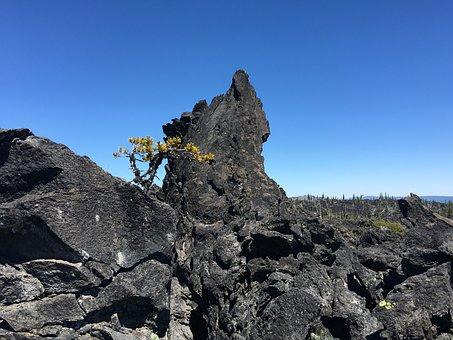 Magma, Obsidian, Landscape, Volcano, Lava, Volcanic