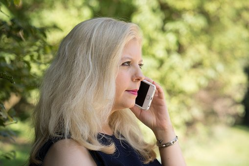 Mobile Phone, Woman, Business, Phone, Call