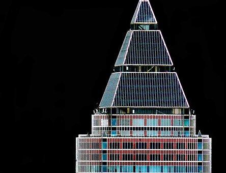 Skyscraper, Facade, Architecture, Skyscrapers