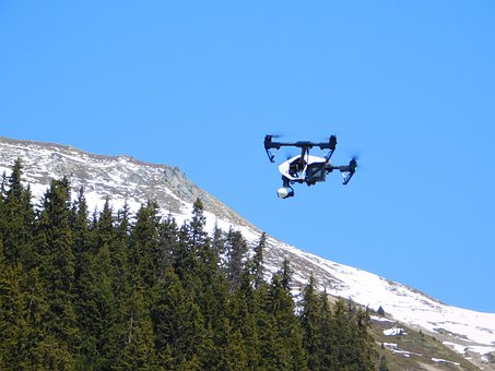 Drone, Sky, Aerial, Helicopter, Fly, Control