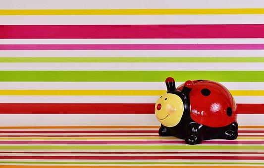 Ladybug, Figure, Lucky Ladybug, Cute, Funny, Colorful