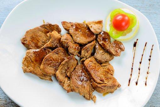 Roasted, Pork, Meal, Meat, Food, Roast, Dinner, Cooked