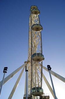 Melbourne, Wheel, Star, Melbourne Skyline, Architecture