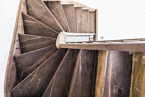 Stairs, Wood, Pforphoto, Railing, Gradually