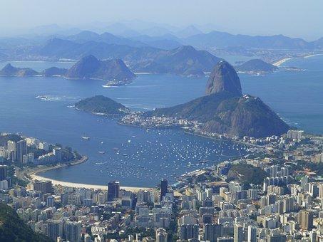 Brazil, Rio De Janeiro, Rio, Janeiro, De, Urban