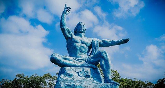 Nagasaki, Sculpture, The Atomic Bomb, Park, War, Peace