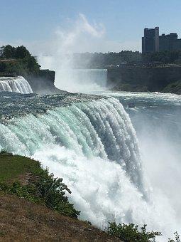 Niagara, Water, Waterfall, Ontario, Niagara Falls