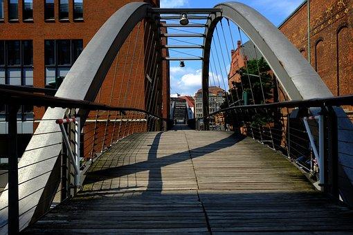 Canal Bridge, Away, Channel, Water Channel, City, Water