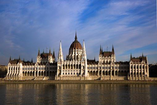 Budapest, Hungary, Parliament, Building, Palace