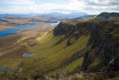 Scotland, Isle Of Skye, Skye, Landscape, Scottish