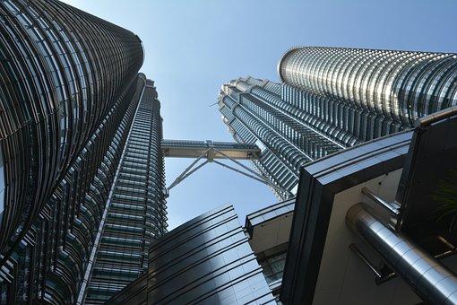 Petronas Towers, Tall Building, Skyscraper, Malaysia