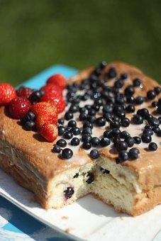Sponge Cake, Pies, Sweets, Baking, Food, Tasty, Berry
