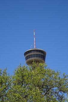 San Antonio, Tower, America, Texas, Usa, Landmark, City