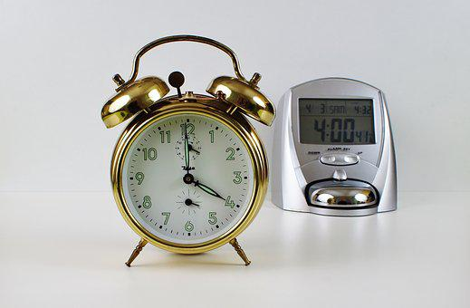 Alarm Clock, Time, Time Of, Clock, Arouse, Hour