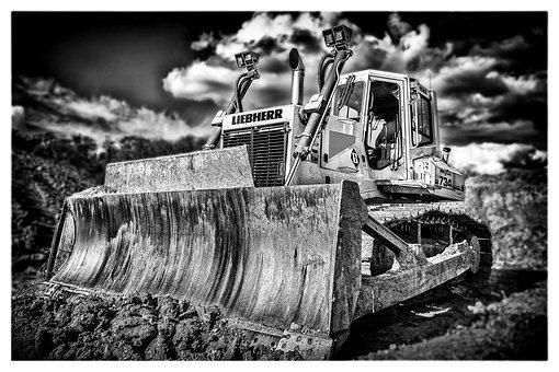 Chain Caterpillar, Excavators, Construction Machine