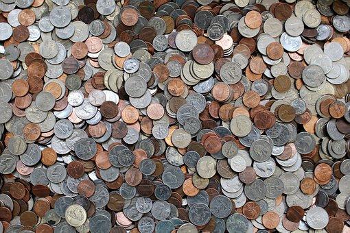 Coins, Currency, Money, Cash, Stewardship, Change, Us