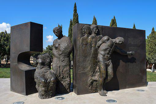 Sculpture, Monument, Memorial, Statue, Dherynia, Cyprus
