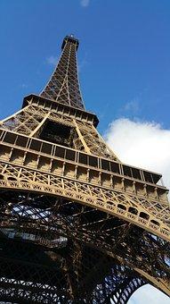 Eiffel Tower, Paris, France, Tower, Eiffel