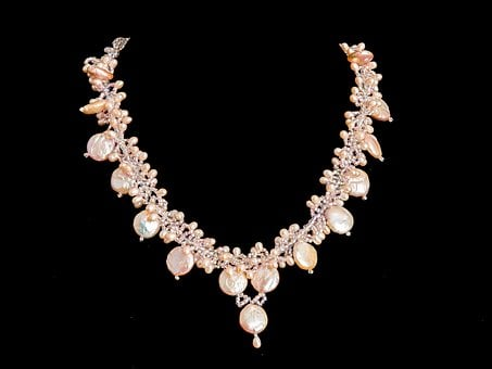 Necklace, Pearl, Jewelry, Luxury, Gift, Female