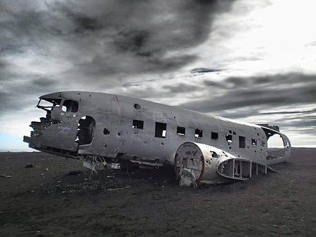 Abandoned, Plane, Aircraft, Wreckage, Wreck, Icelandic