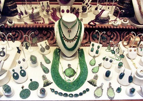 Jewelry, Ring, Necklaces, Quartz, Green, Earrings