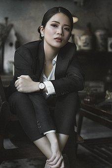 Business Woman, Beauty, Portrait, Woman, Vietnam