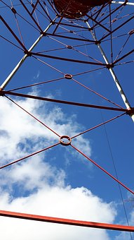 Steel Structure, Construction, Tower, Sky