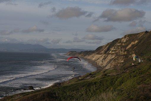 San Francisco, Ocean, California, Francisco, Bay