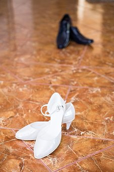 White Shoes, Bride, Wife, Wedding, Shopping, Gift